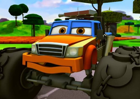 Meteor: The Mighty Monster Trucks