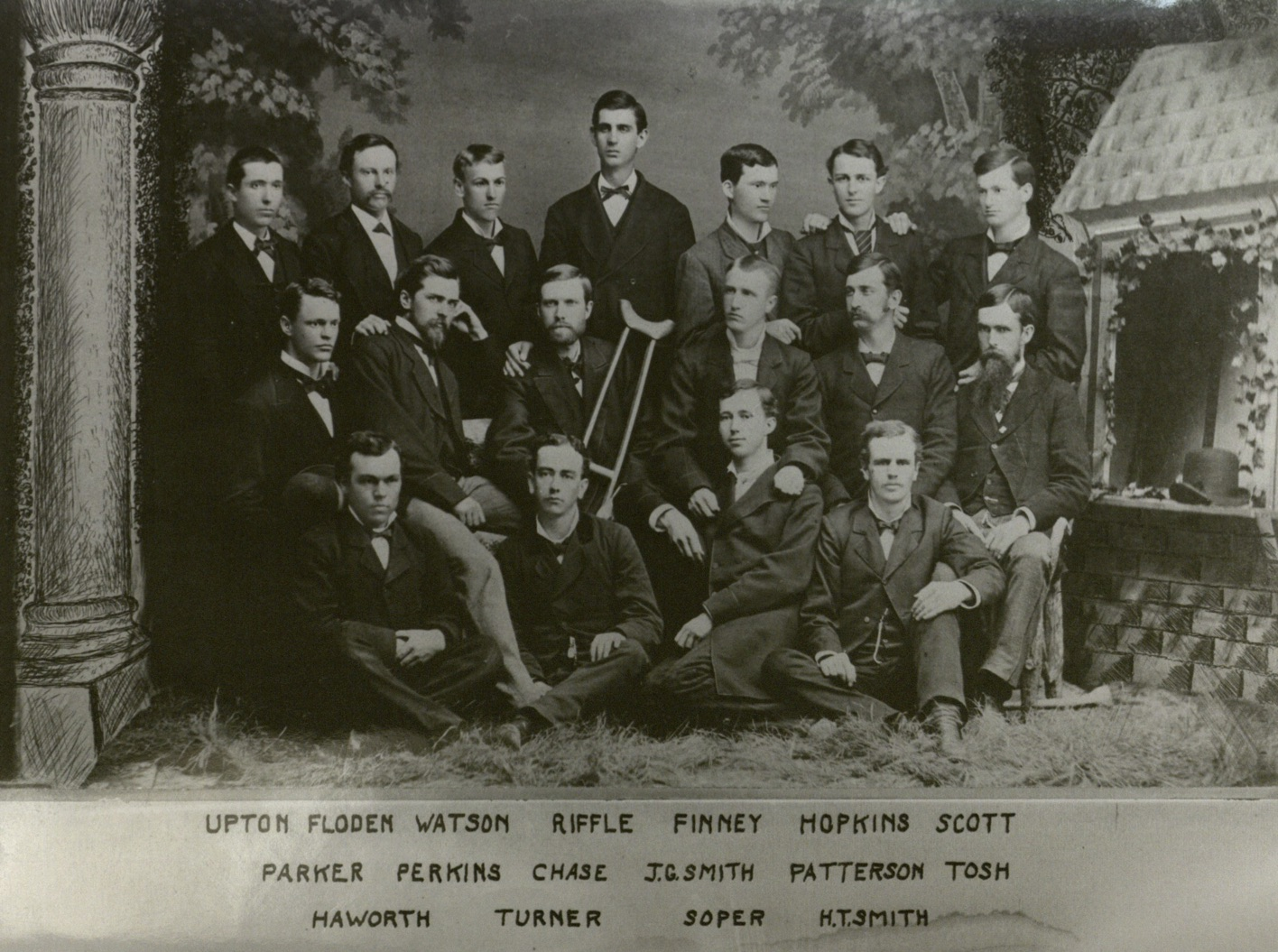 First known photo of Alpha Nu Betas.