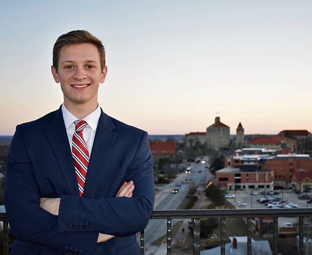 Congratulations to Noah Ries (Junior) for becoming the new Student Body President at the University of Kansas as part of the Crimson & Blue Coalition! It is great to see our members involved on campus!