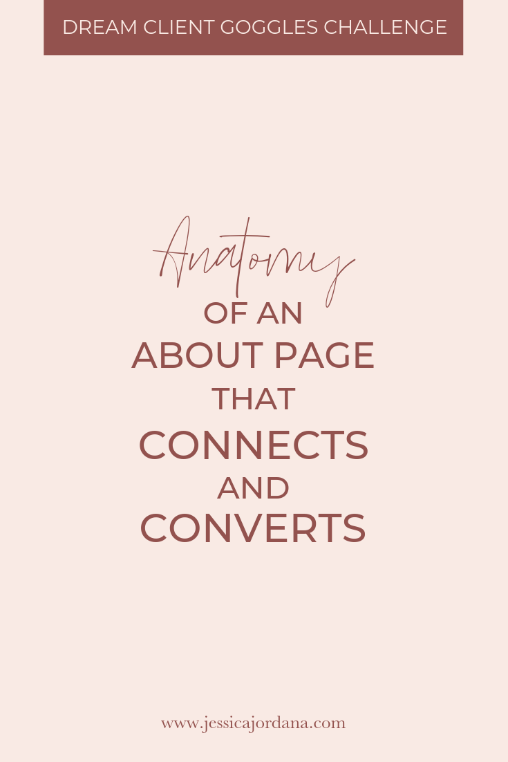 Jess, XO - anatomy of an about page that connects and converts