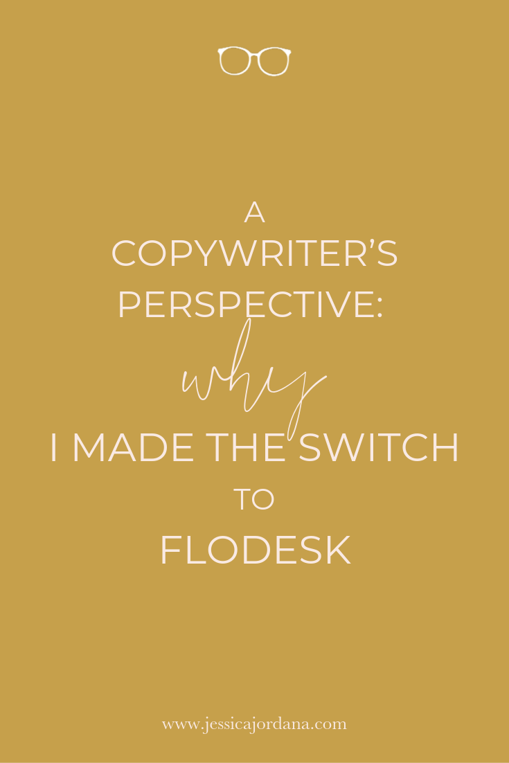 Jess, XO - A Copywriter's Perspective: Why I Made the Switch to Flodesk