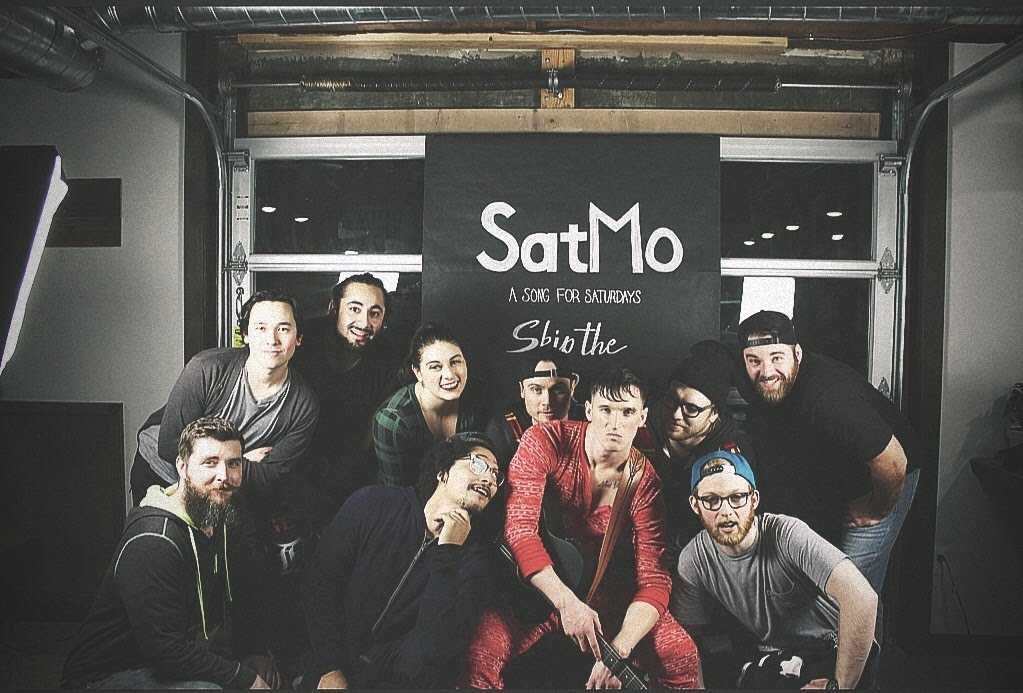 "From left to right: Billy (Trumpet), Tommy ""Toko"" Okura (Trombone), Steven Chandler (Bass), Taelor Braun (Vocals), Danny Cordero (Keys), Josh ""Warlord"" Bingle (Drums), LIAM, Steven Bodeauboy (Guitar), Austin ""Ragee"" Agee (Guitar), Mike (Sound dude.)"