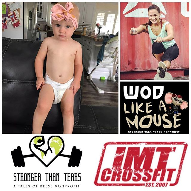 Meet Sweet Baby Sloane!! We are so excited to be partnered with @imt_crossfit  Saturday June 8th - thanks to our beautiful ambassador @ngomez011 💕 in honor of this beautiful little girl who is deaf and in need of cochlear implants!! Let's join together and WODwithReese for Sweet Baby Sloane!! 💜🐭 Portal for sign up will be live end of next week!!