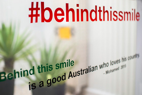 'Behind this smile is a good Australian who loves his country'    Mohamed's Story  at Laverton Community Hub