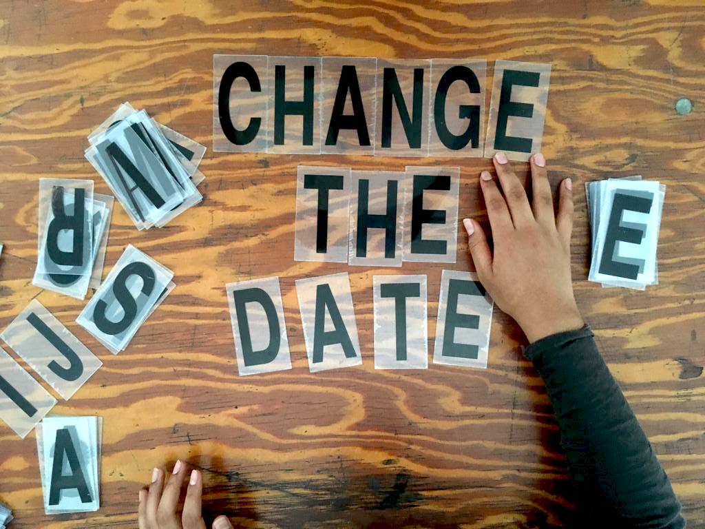 Change the date by  Bez Worcou  at  Cross Art Projects , Sydney AUS