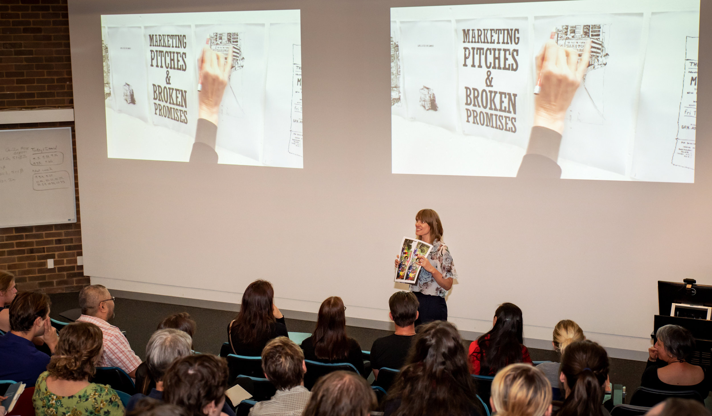 This is what a book launch looks like…. Photo: Sarah Lorien