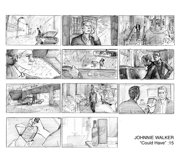 Johnnie Walker :15 spot directed by Samir Mallal, Smuggler NYC, 2012