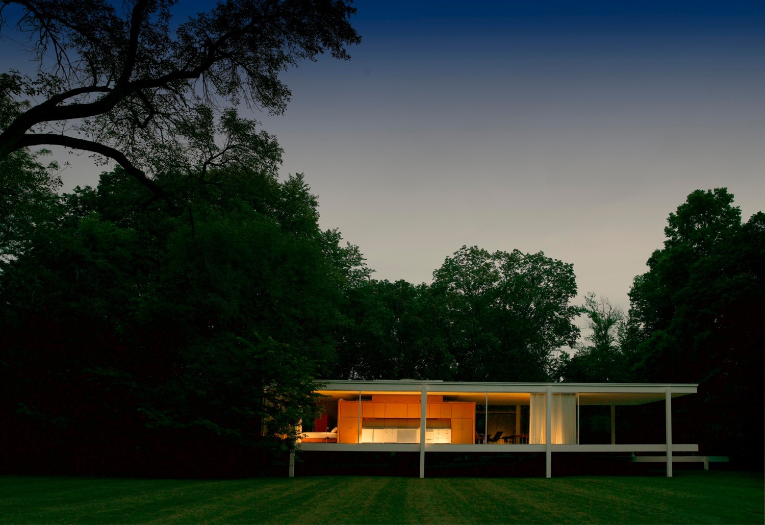 Farnsworth House. Plano, Illinois