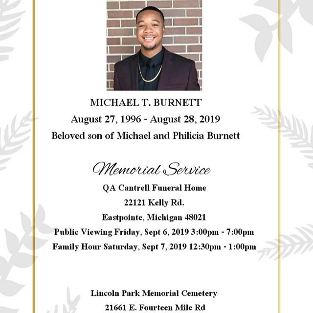 Thank you to everyone who donated to my cousin's memorial fund. We above the goal. Also, thank you for all the prayers, calls, texts, and DM's....this weekend is going to be tough but we're going to celebrate my cousin's life. I'll be laying low from social media for the rest of the week. God Bless 🙏🏾