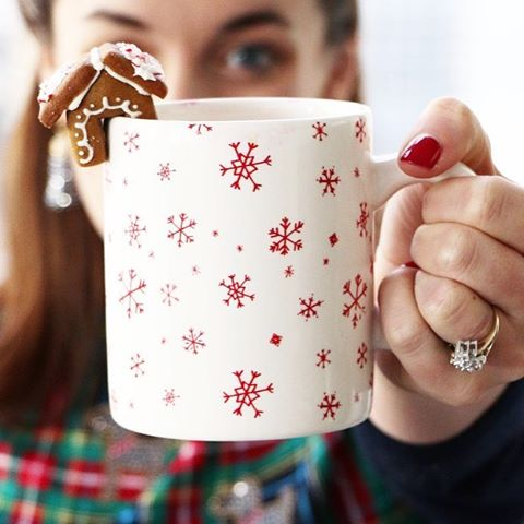 Tis the season for a big cup of coffee and a sweet treat at all times!