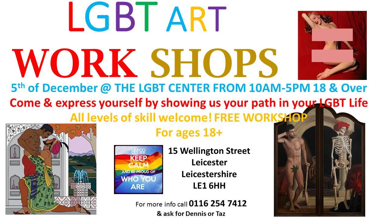 LGBT ART WORK SHOPS