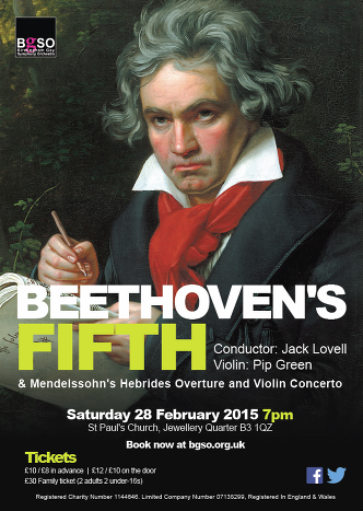 Birmingham Gay Orchestra Beethoven Fifth