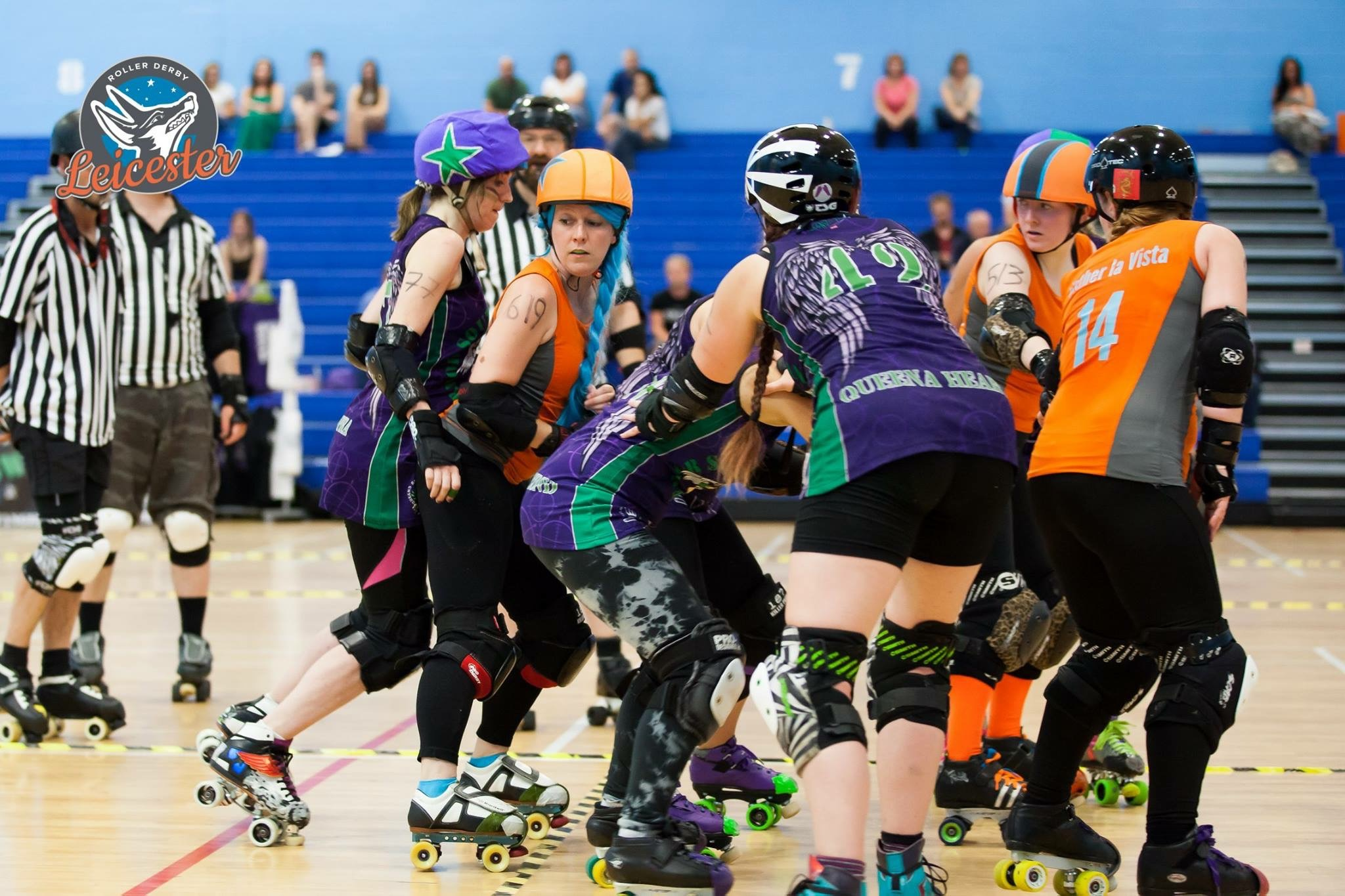 RDL - photo supplied by Roller Derby Leicester.