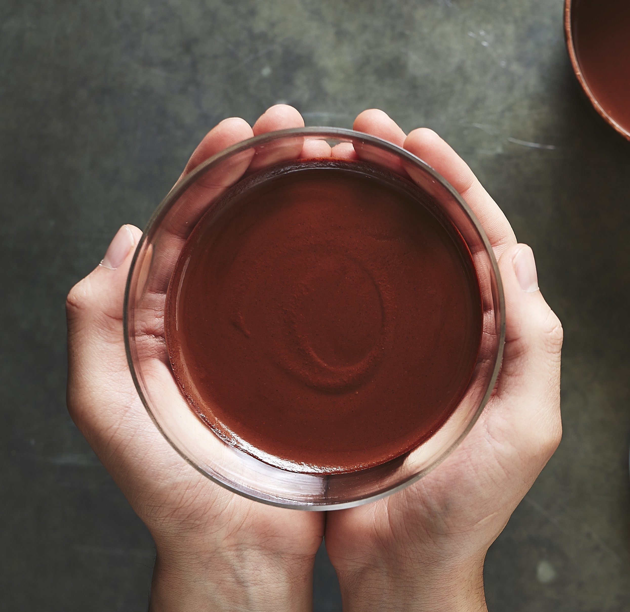 Hand Bowl and Cacao drink.  Photo: Joe Sarah