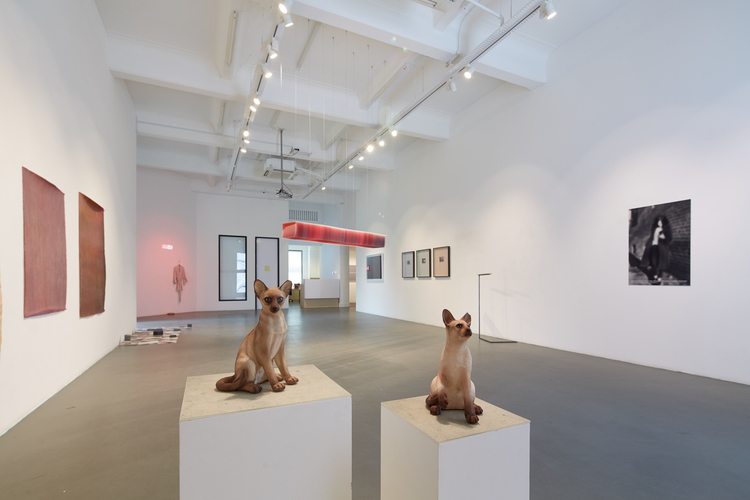 """Installation view of """"what it is about when it is about nothing"""", 2015,at Mizuma Gallery, Singapore,photo by Tan Hai Han."""