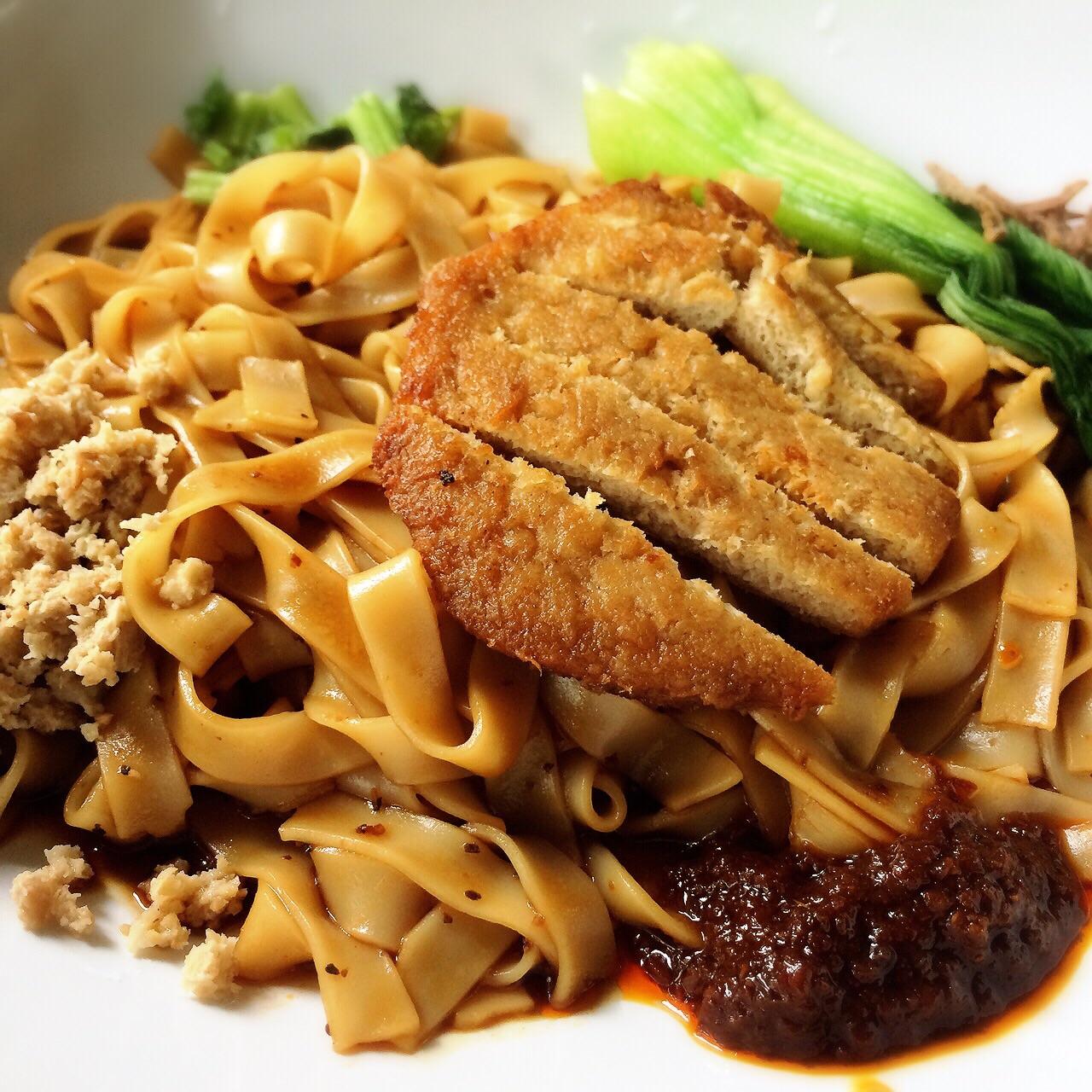 卡拉皇帝面 Cutlet Royal Noodle Delight  $4.50