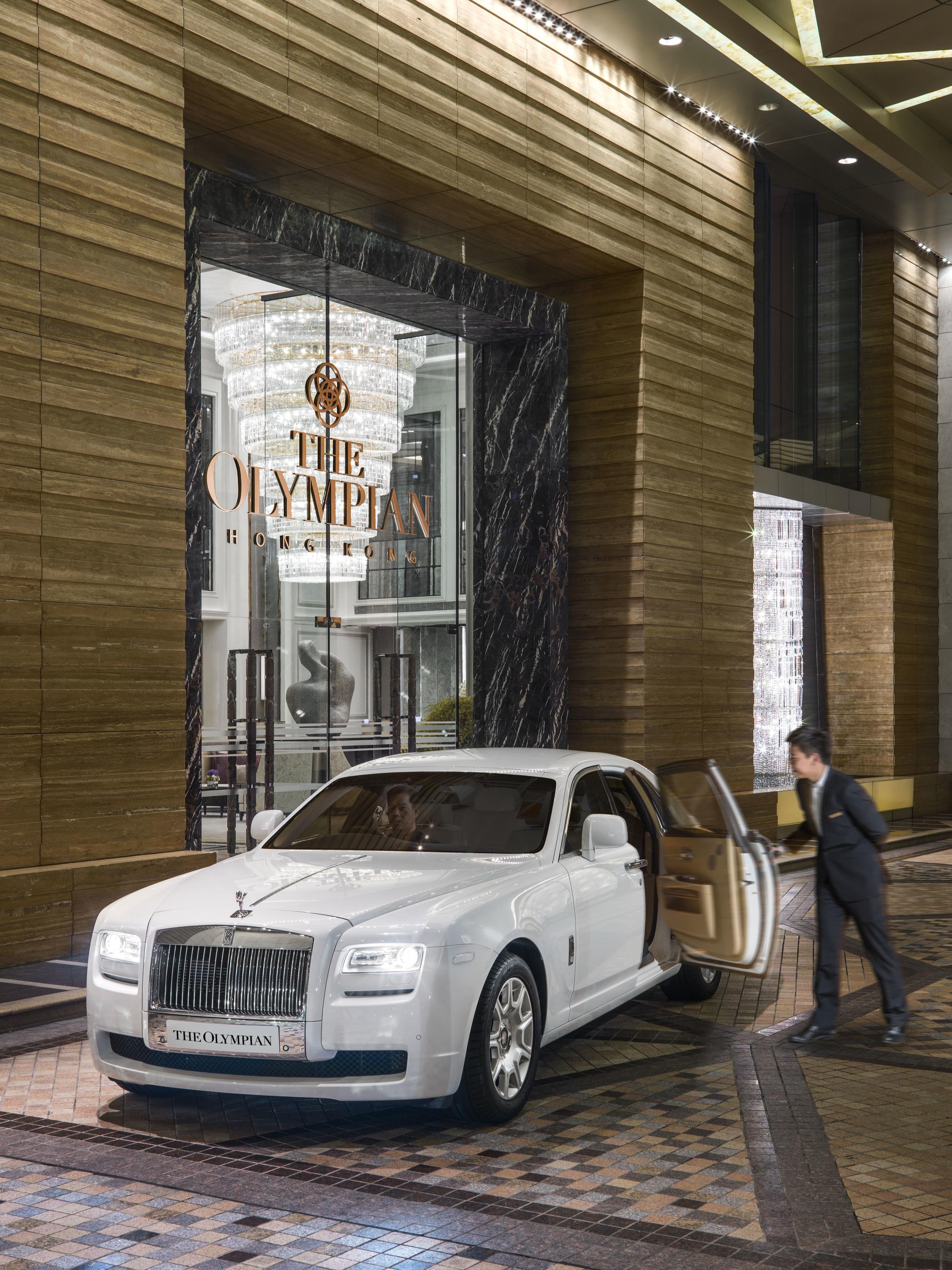 Chauffeured Rolls Royce