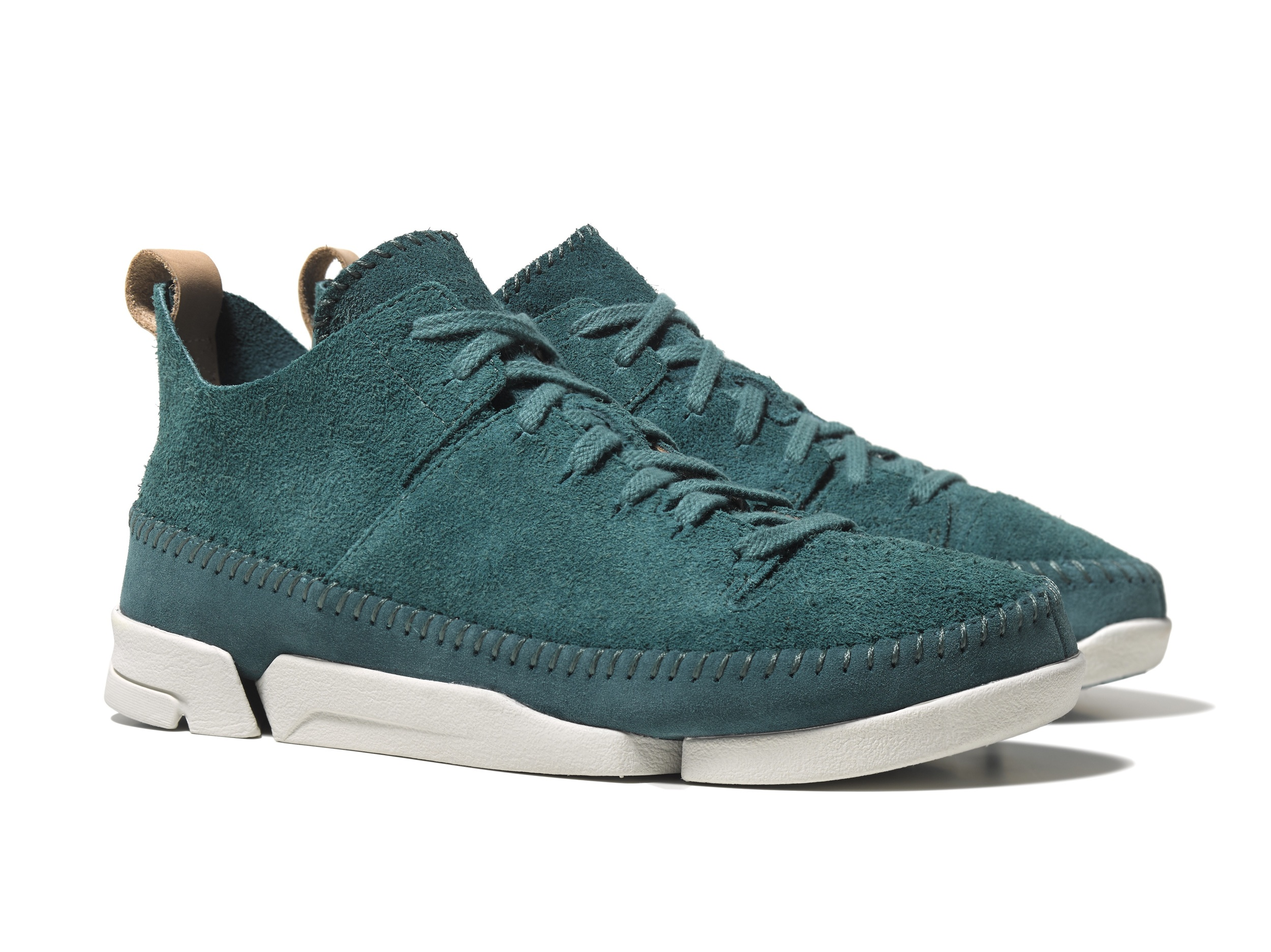M Trigenic Flex Teal Suede