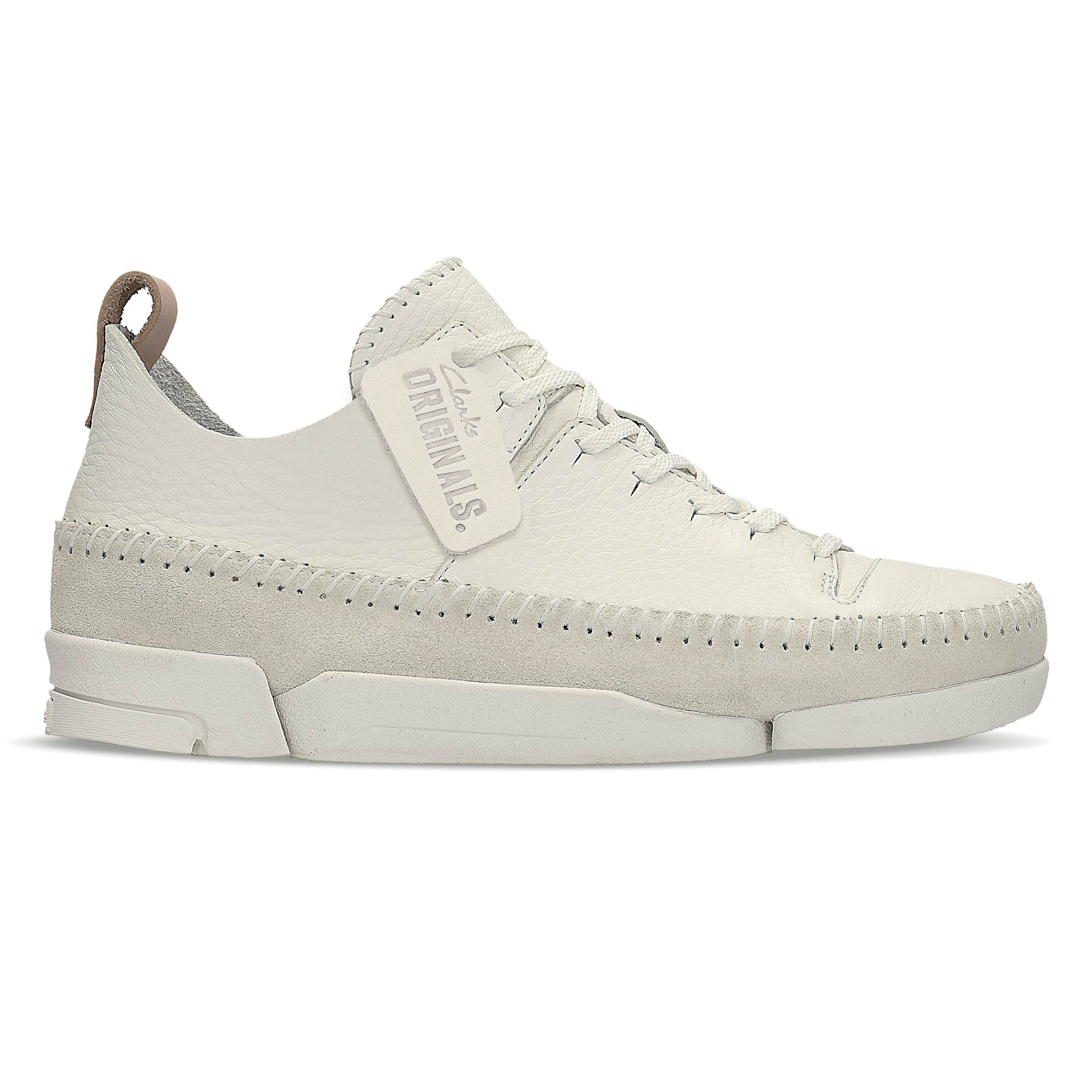 Womens White Nubuck