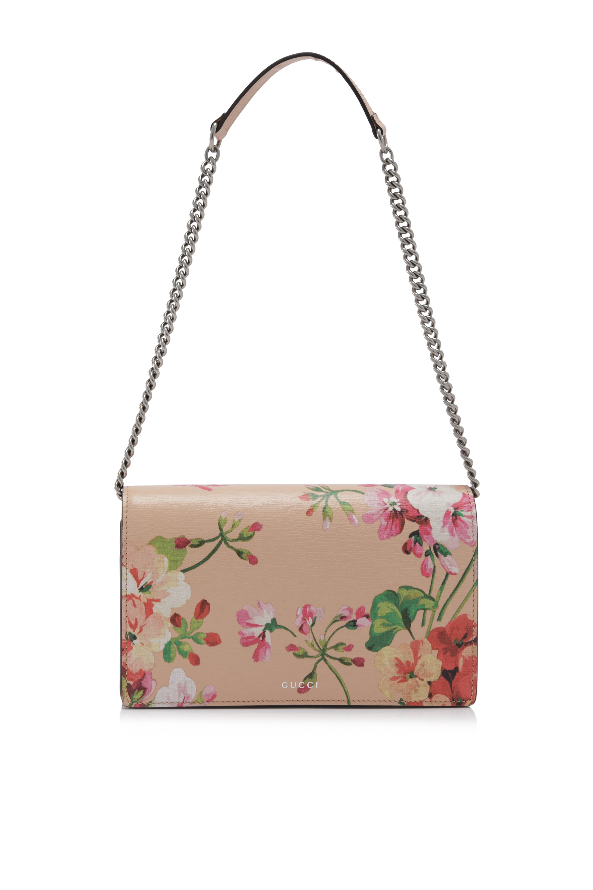 Gucci Blooms Leather Chain Wallet (01).jpg