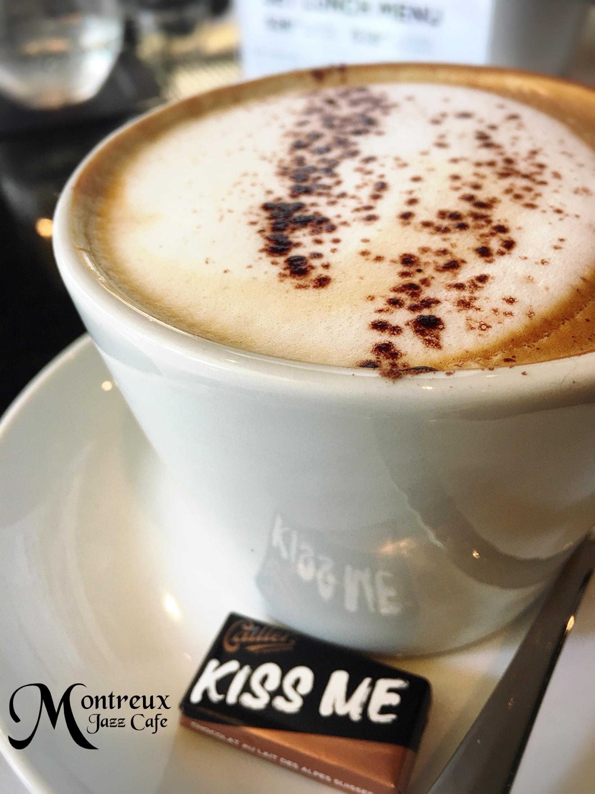 Coffee at Montreux Jazz Café