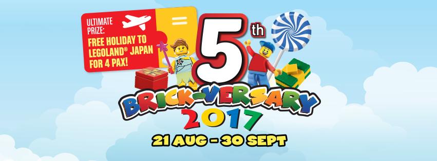 LEGOLAND 5th Brickversary 21 Aug - 30 Sep.png