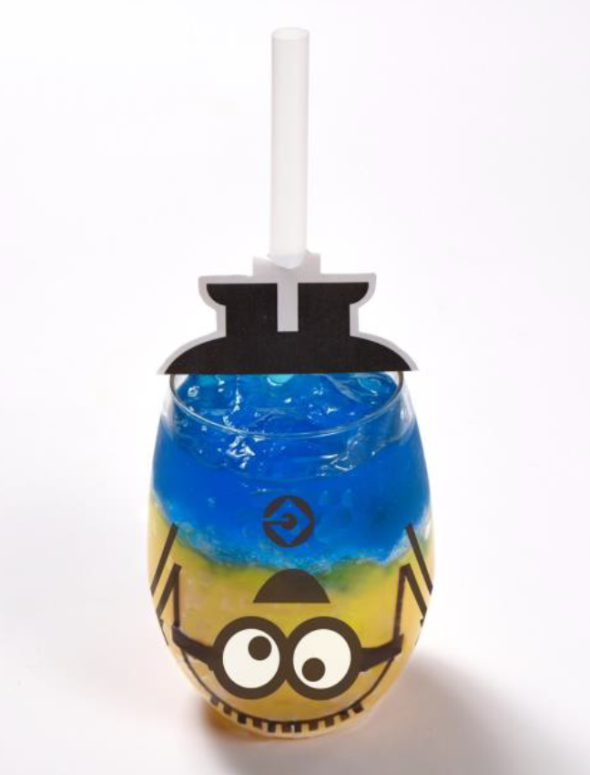 Up-side-down Minion Jelly Be Bad!