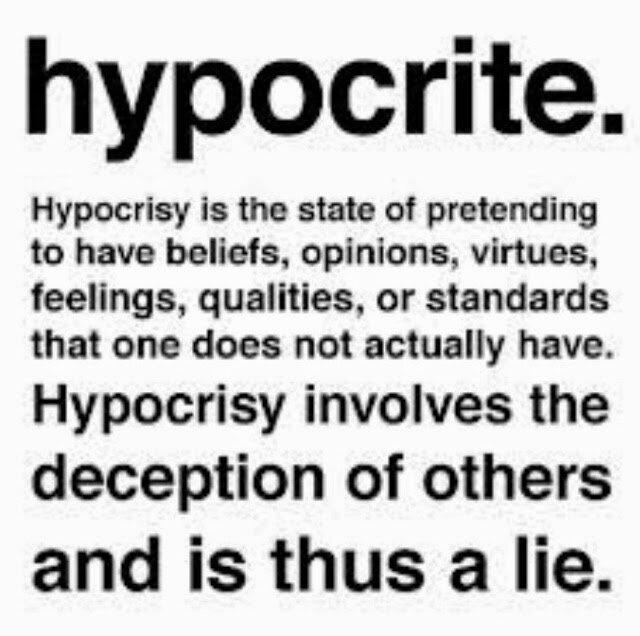 hypocrite quote