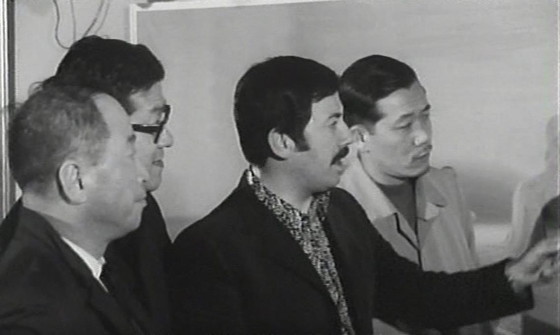 1967 Visitatori giapponesi in Galleria Strasburgo