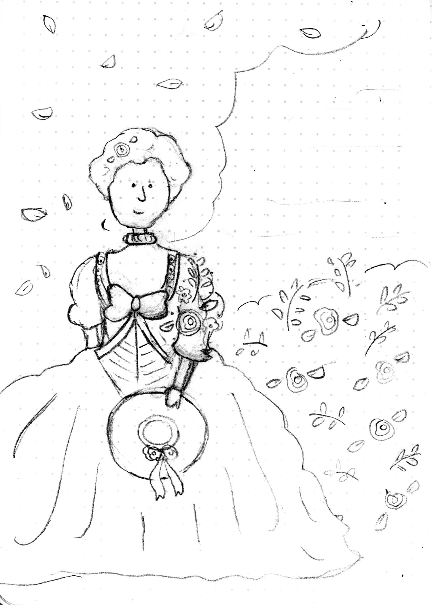 Rose-Sketch