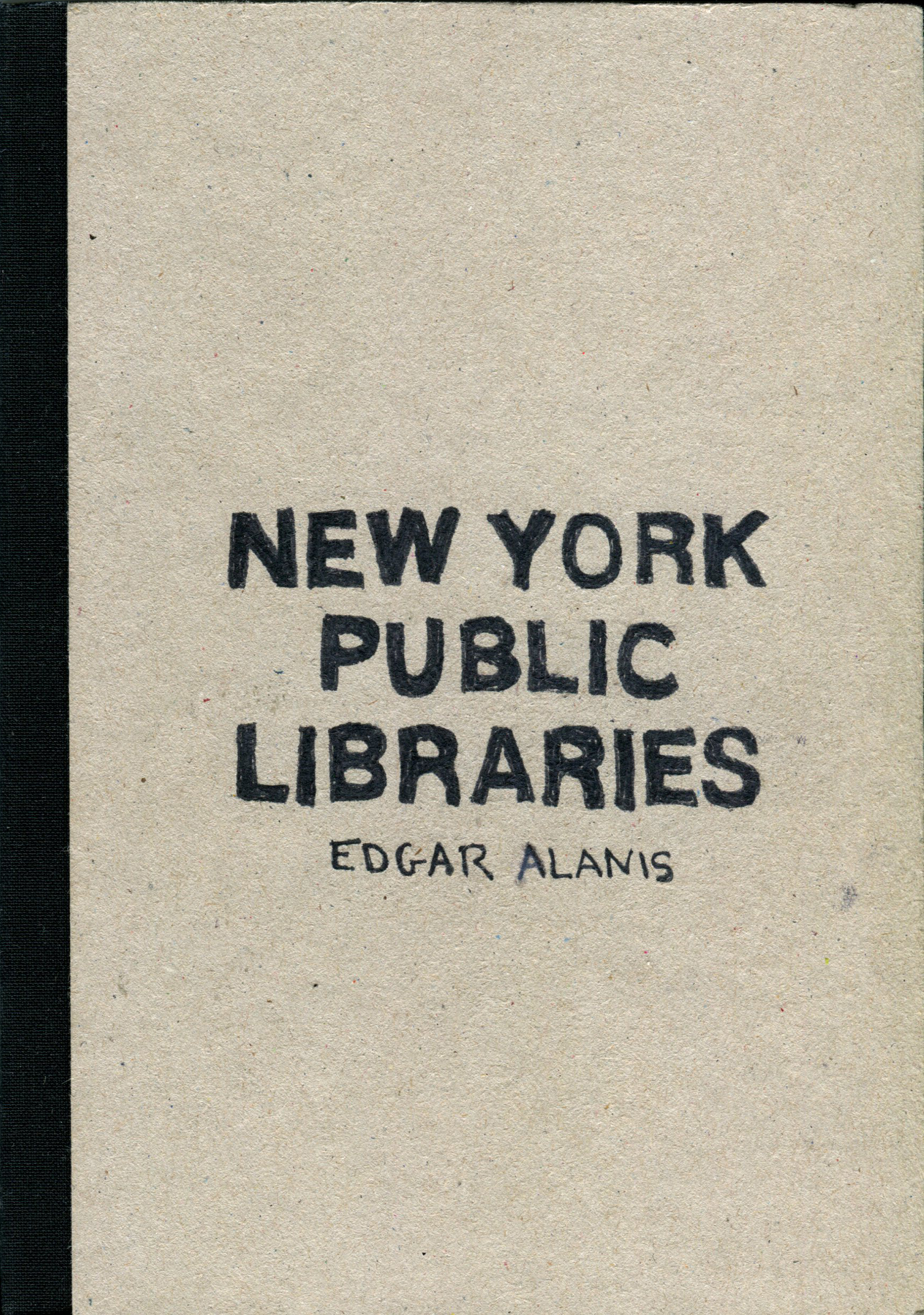 LibrariesSketchbookCover
