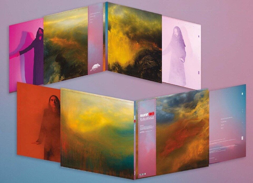 SUNN O))) - Life Metal (April 2019) - 4 paintings by Samantha Keely Smith