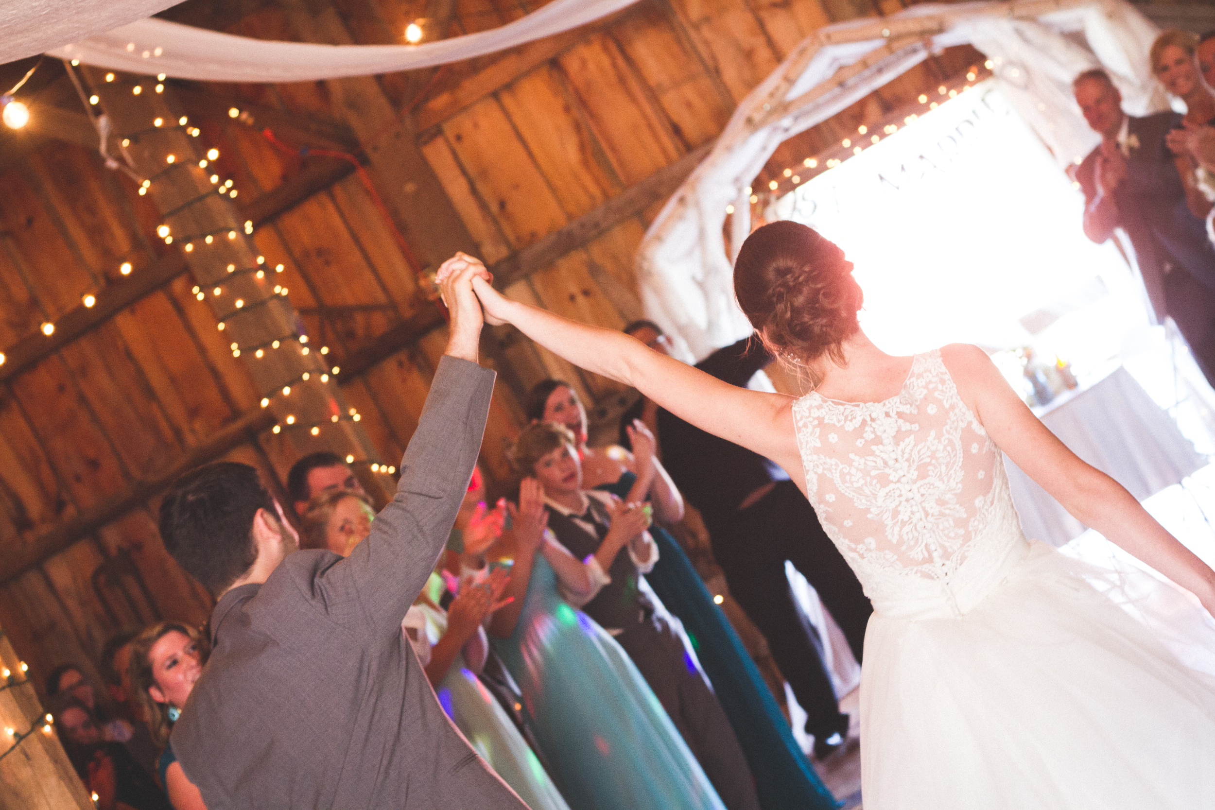 Reception at Bliss Farm in Granville, Massachusetts. Sweet Alice Photography.