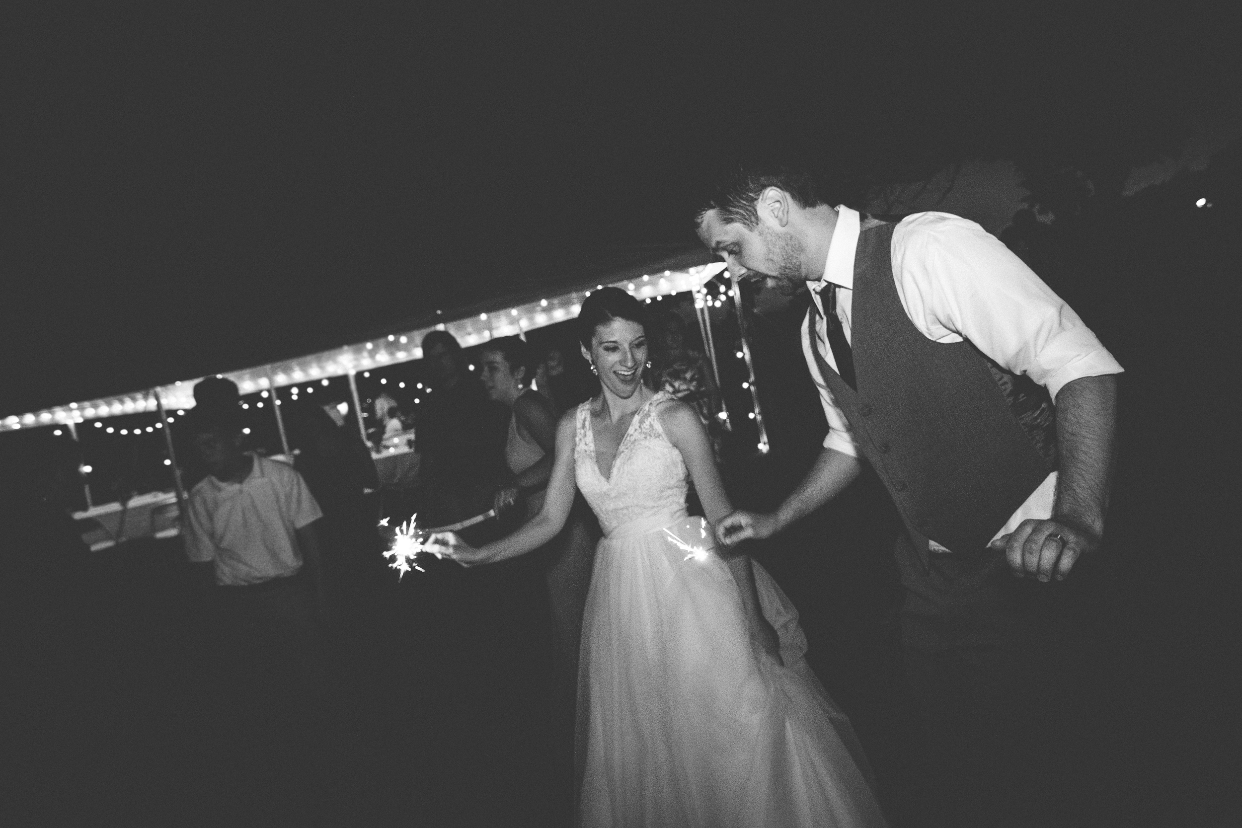Sparklers at Bliss Farm in Granville, Massachusetts. Sweet Alice Photography.