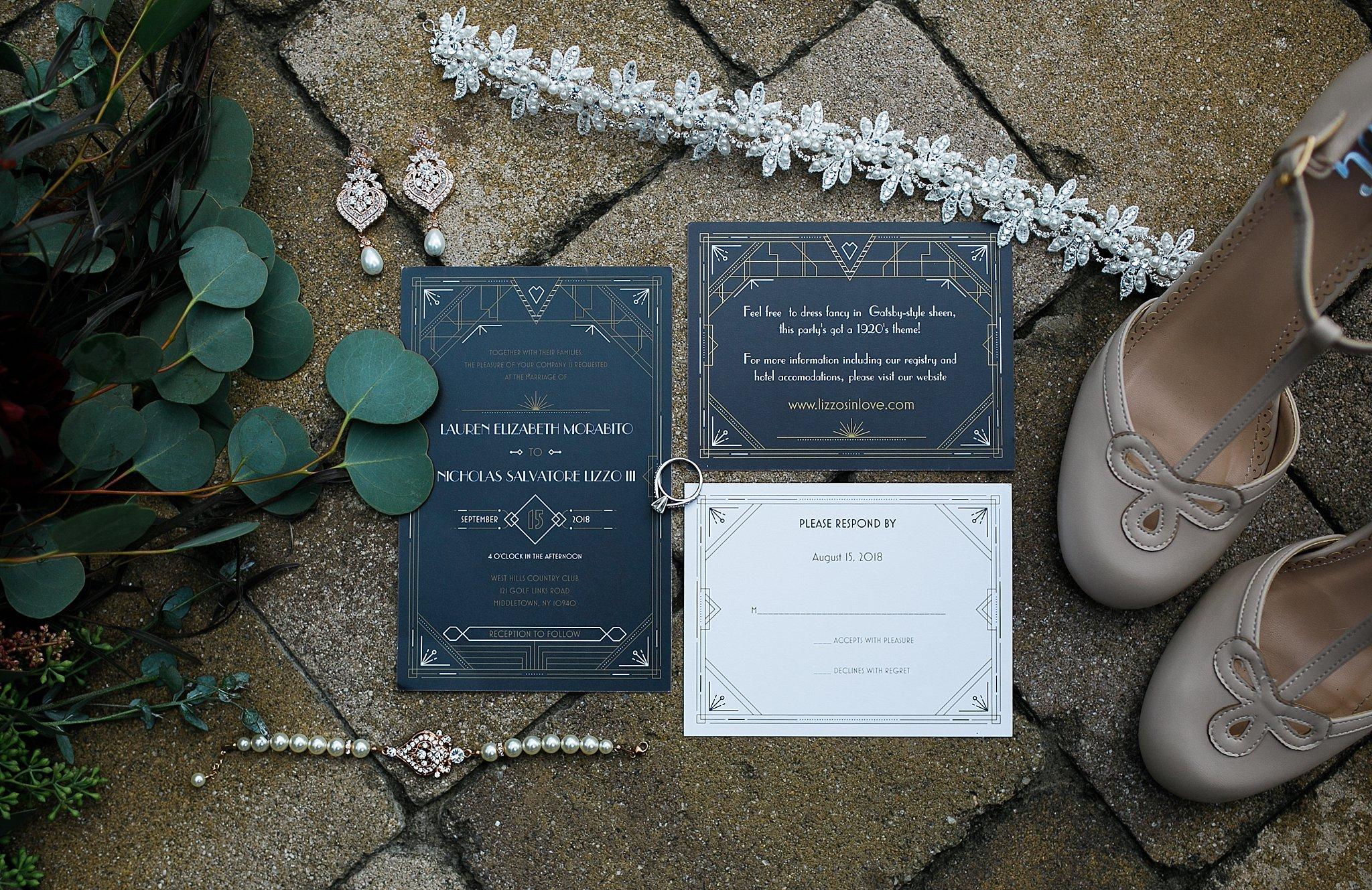West Hills Country Club Wedding Gatsby Wedding Roaring Twenties Wedding Hudson Valley Wedding Photographer Sweet Alice Photography1.jpg