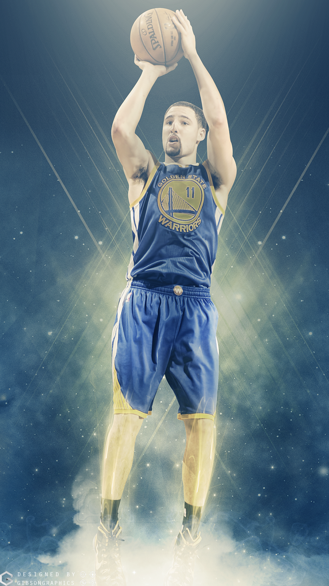 KLAY THOMPSON ARTWORK