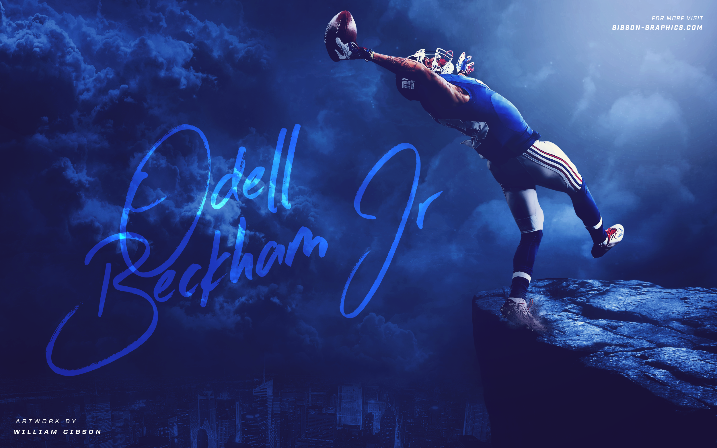 Odell Beckham Jr Artwork