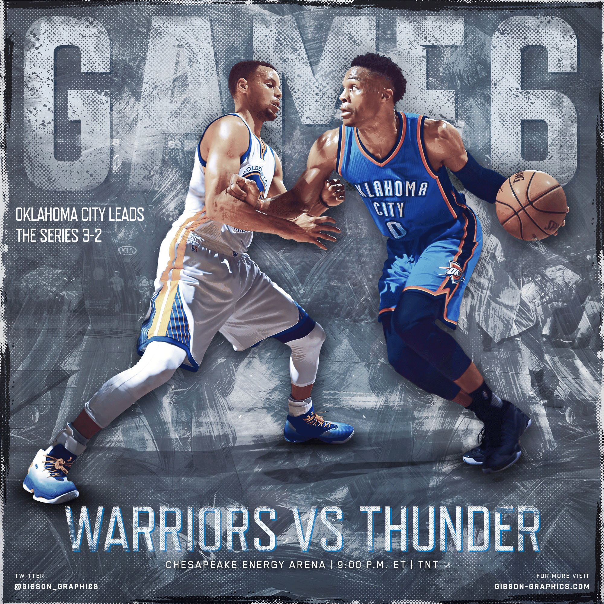 Thunder vs Warriors Game 6 Conference Finals