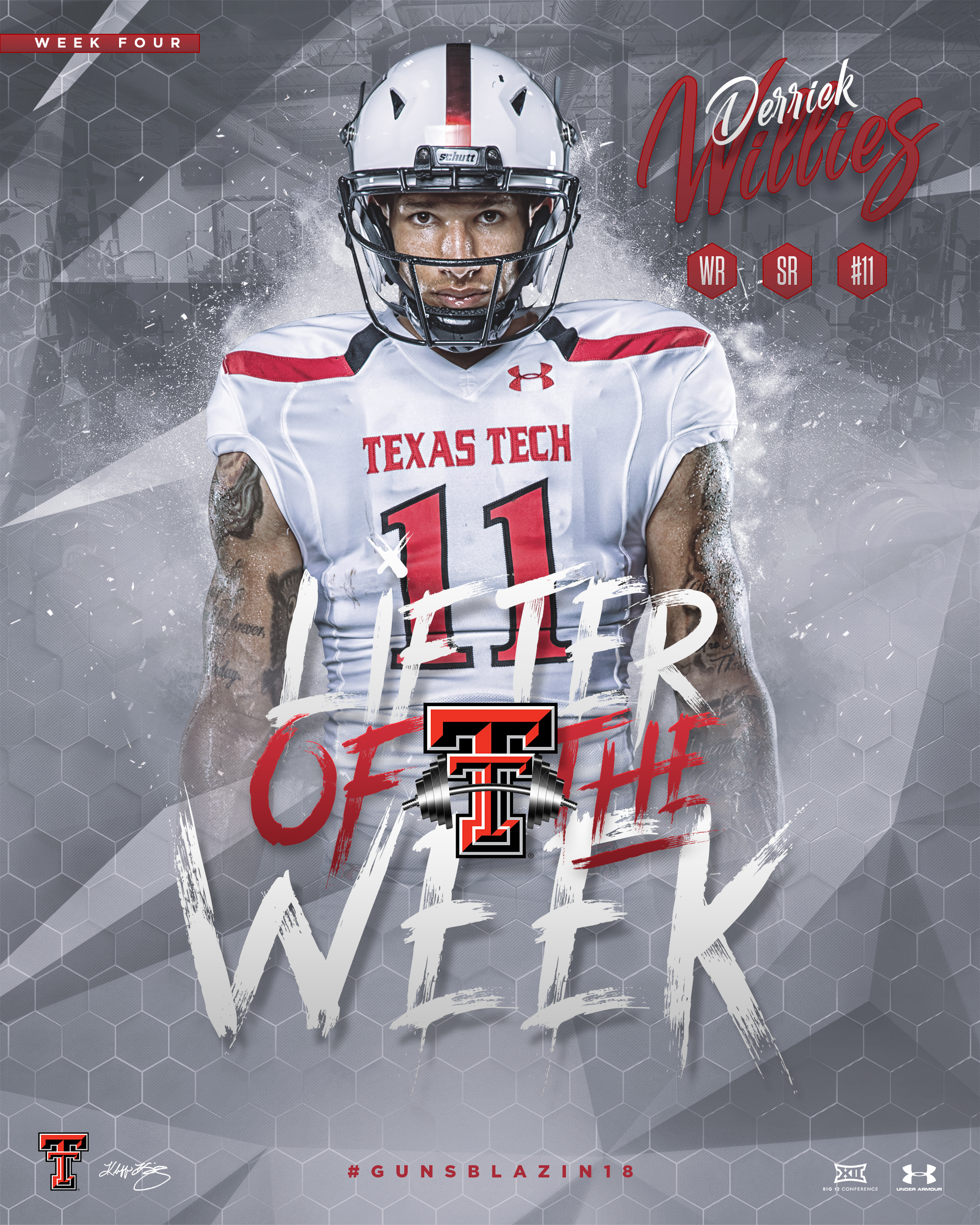 TTU Lifter of the Week Derrick Willies