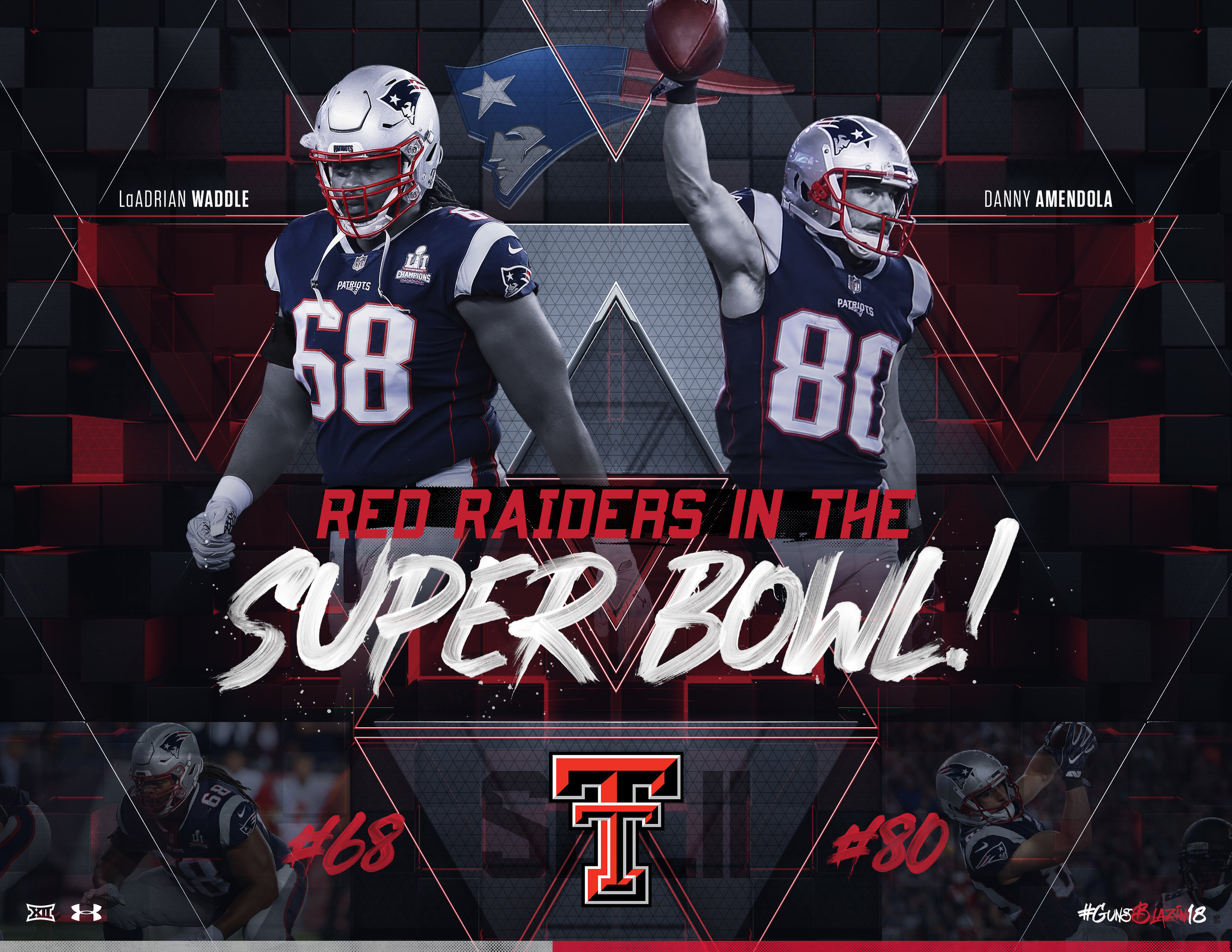 TTU FB Super Bowl Bound 2018