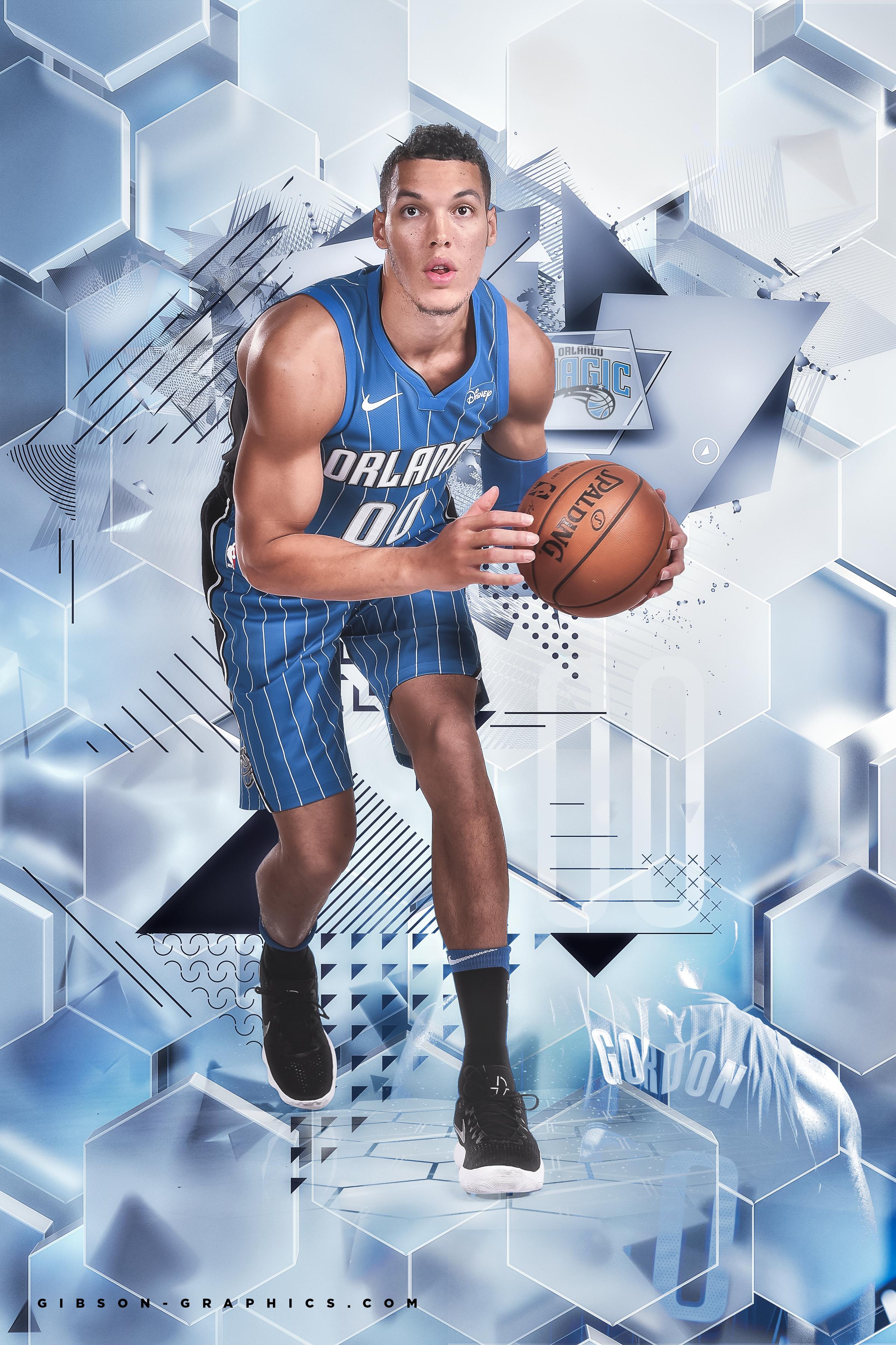 Aaron Gordon Orlando Magic Poster