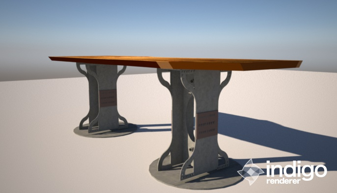 Custom table design