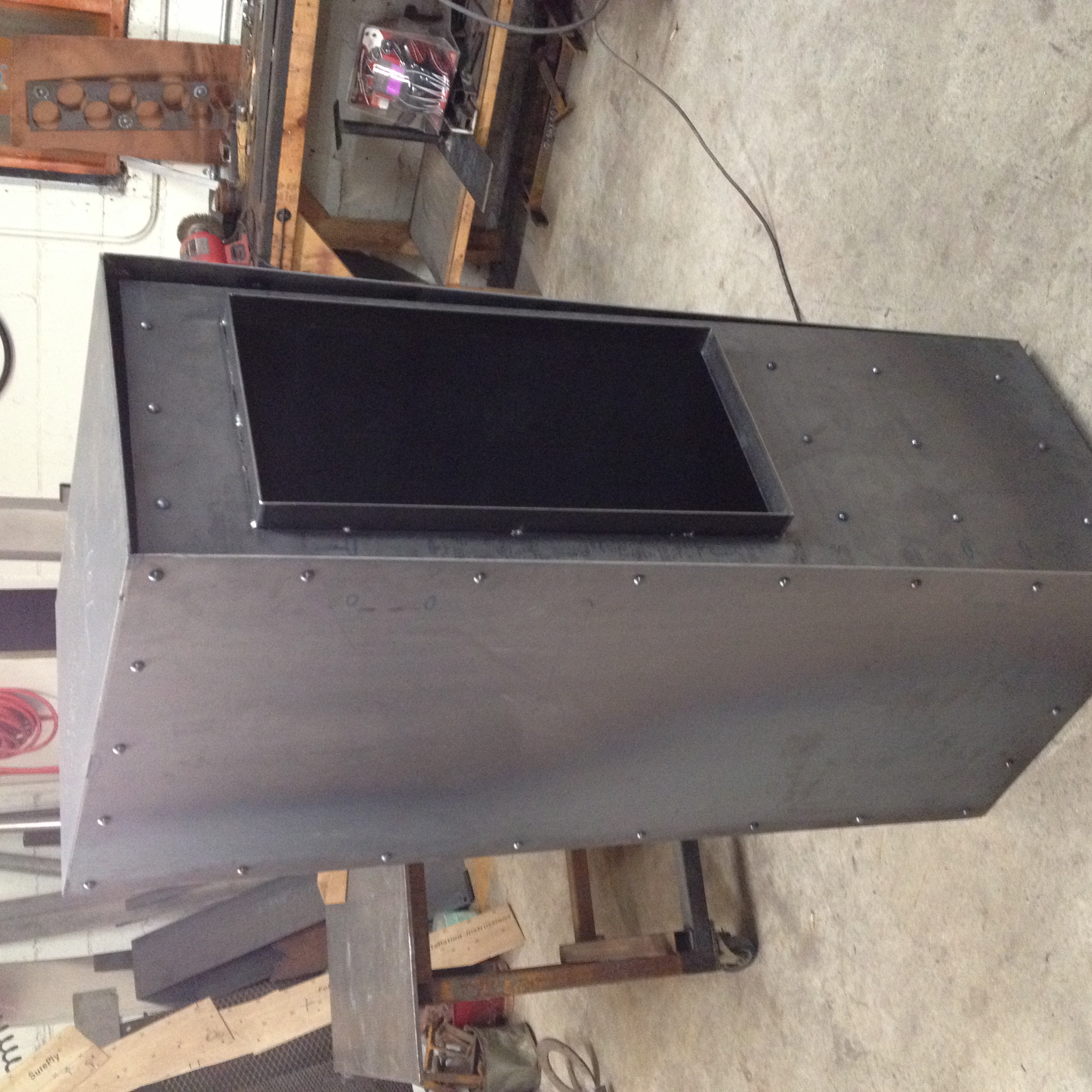 Custom steel ATM box