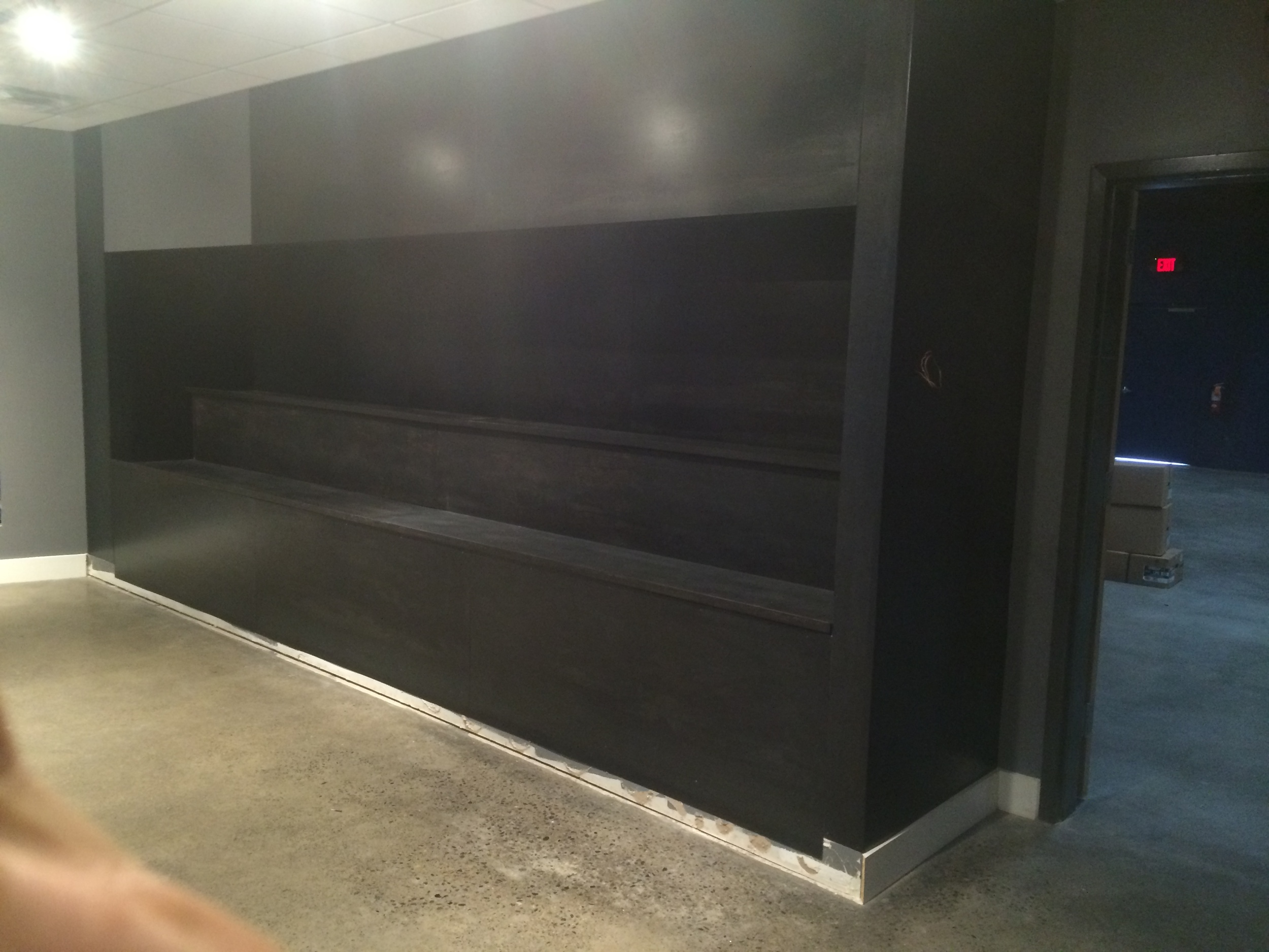 Custom steel surround