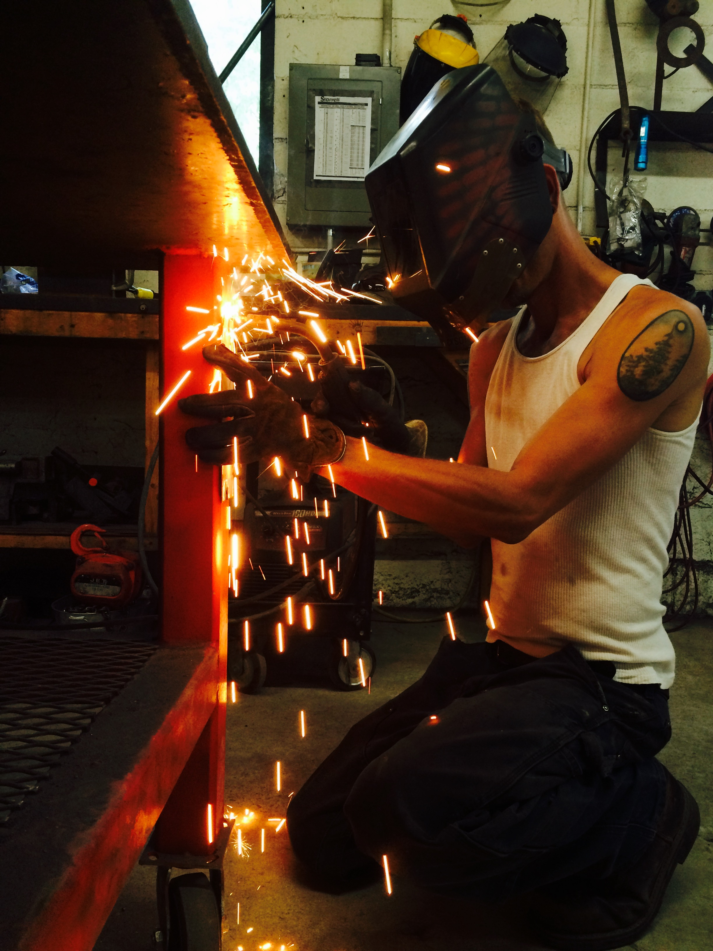 Welding and fabrication shop