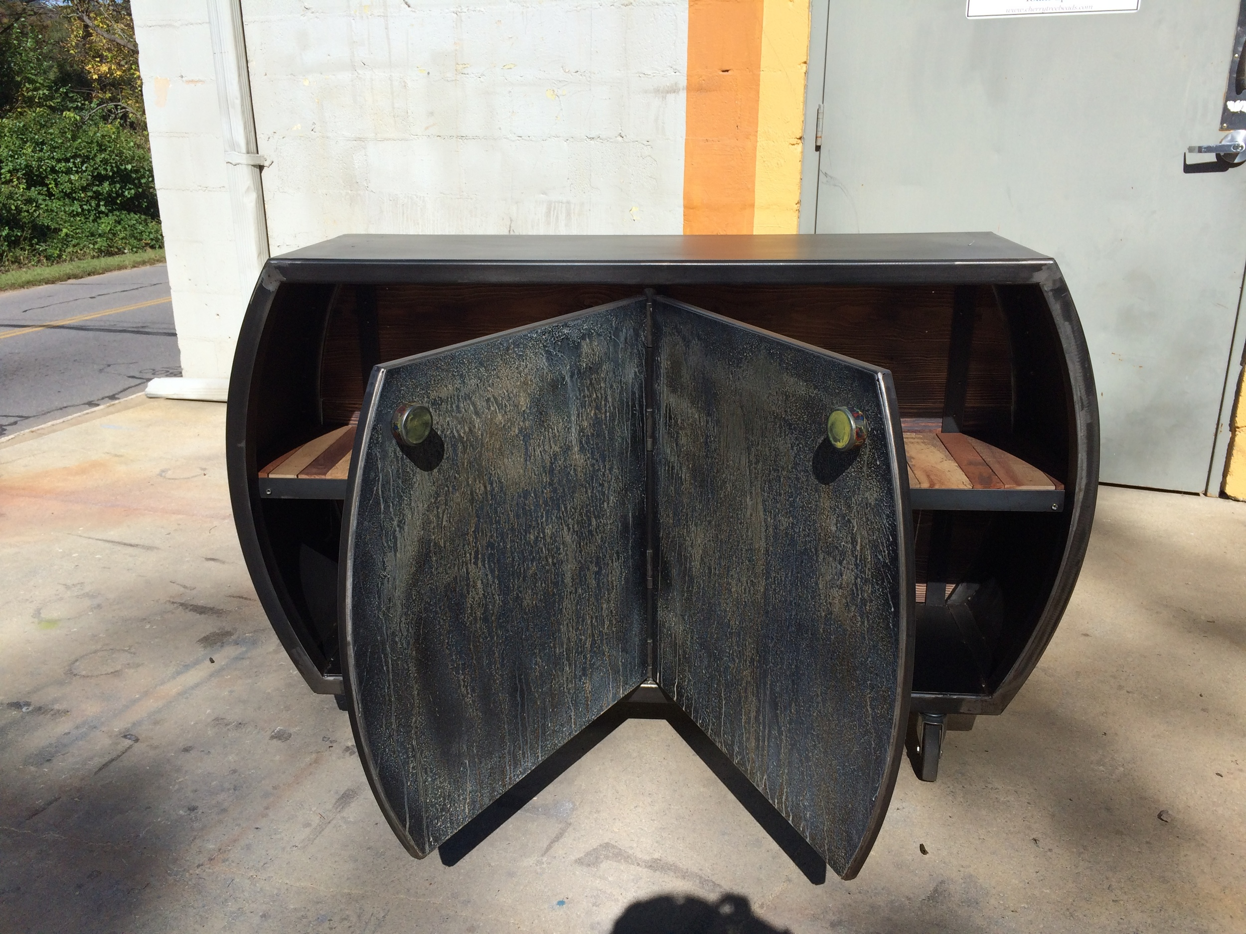 Custom Steel Cabinet