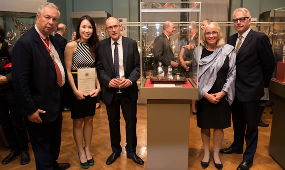The Young Designer Silversmith Award private view at the V&A Museum