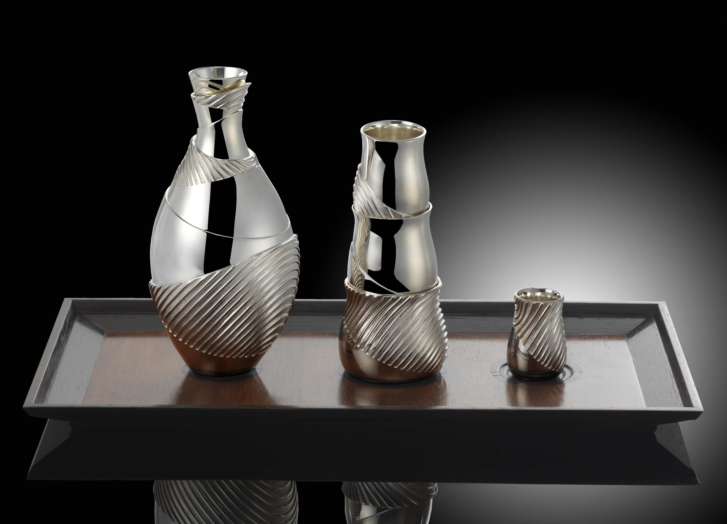 Silver Sake Set.jpg
