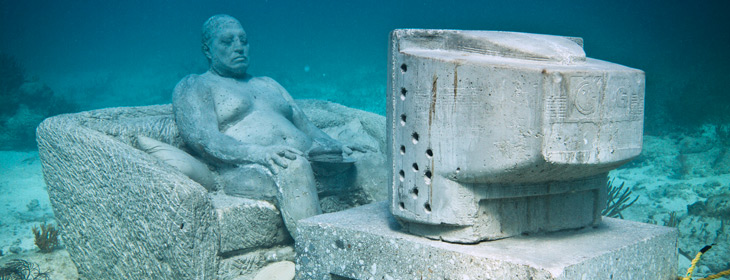Work by Jason Decaires Taylor