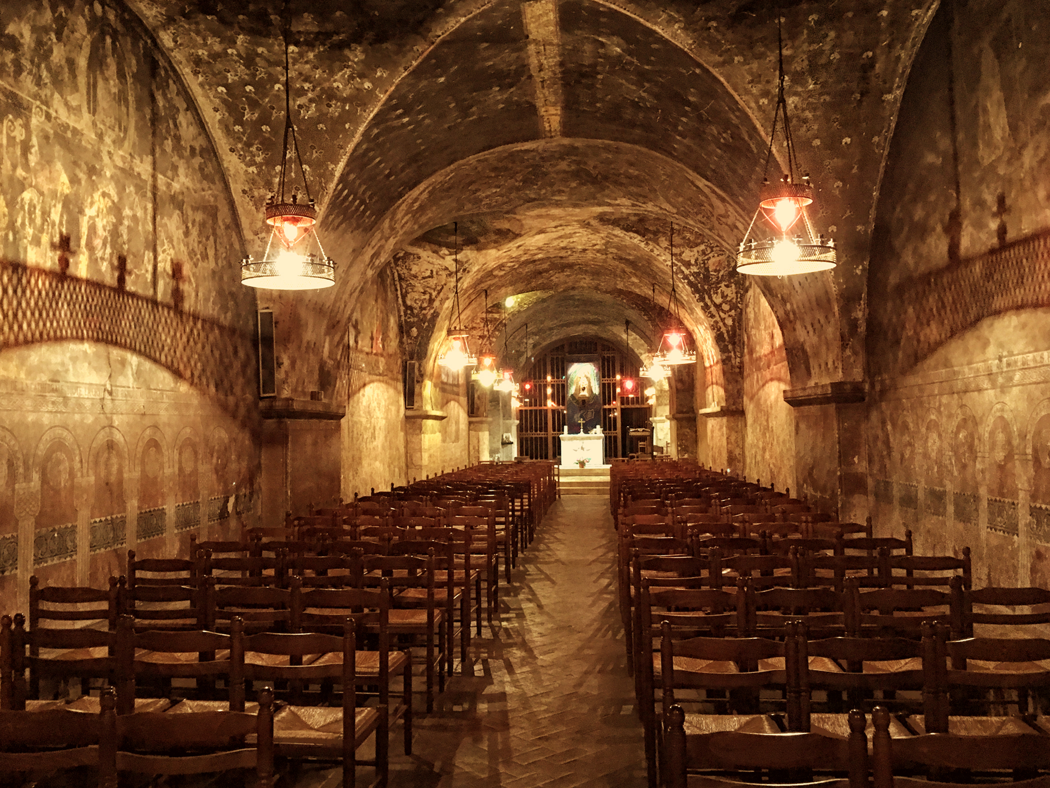 The Crypt of Chartres Cathedral
